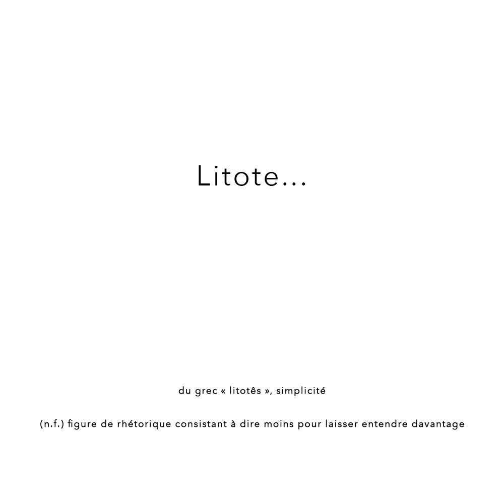 0-Litote